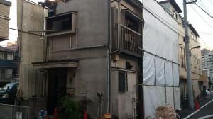足立区柳原 木造二階建家屋解体工事