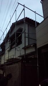 北区志茂 木造二階建家屋解体工事