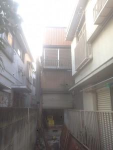 北区堀船 木造二階建家屋解体工事