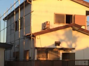 草加市青柳 木造二階建家屋解体工事