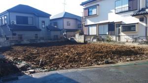 松戸市小金清志町 木造二階建家屋解体工事のイメージ画像