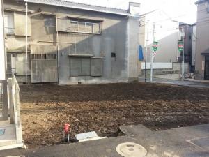 北区西ヶ原 木造二階建店舗 解体工事のイメージ画像
