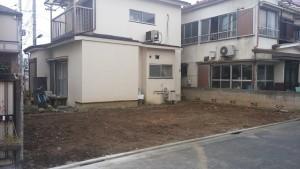 足立区江北 木造二階建家屋解体工事のイメージ画像