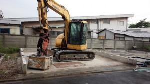 足立区六町区画整理 倉庫兼住宅2棟解体工事のイメージ画像
