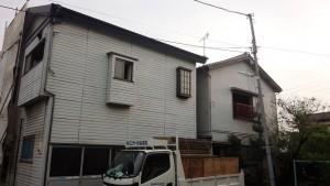 足立区六町区画整理 倉庫兼住宅2棟解体工事