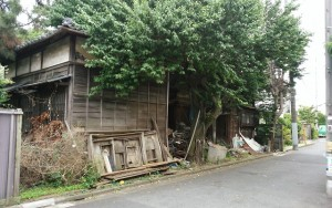 杉並区永福4丁目 木造2階建家屋解体工事