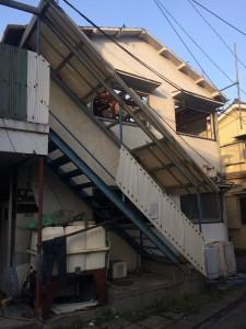 足立区本木南町 木造2階建アパート解体工事のイメージ画像