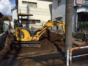 足立区舎人 木造2階建家屋解体工事のイメージ画像
