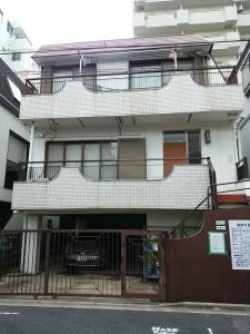 世田谷区太子堂 重量鉄骨3階建解体工事