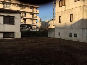 中野区中央 木造2階建家屋解体工事(3棟)のイメージ画像