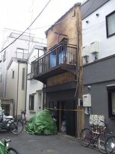 台東区浅草 火災解体工事