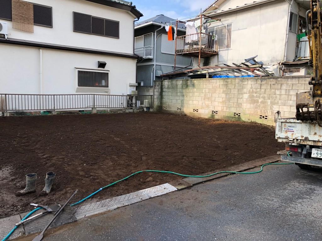 船橋市夏見 木造2階建解体工事のイメージ画像