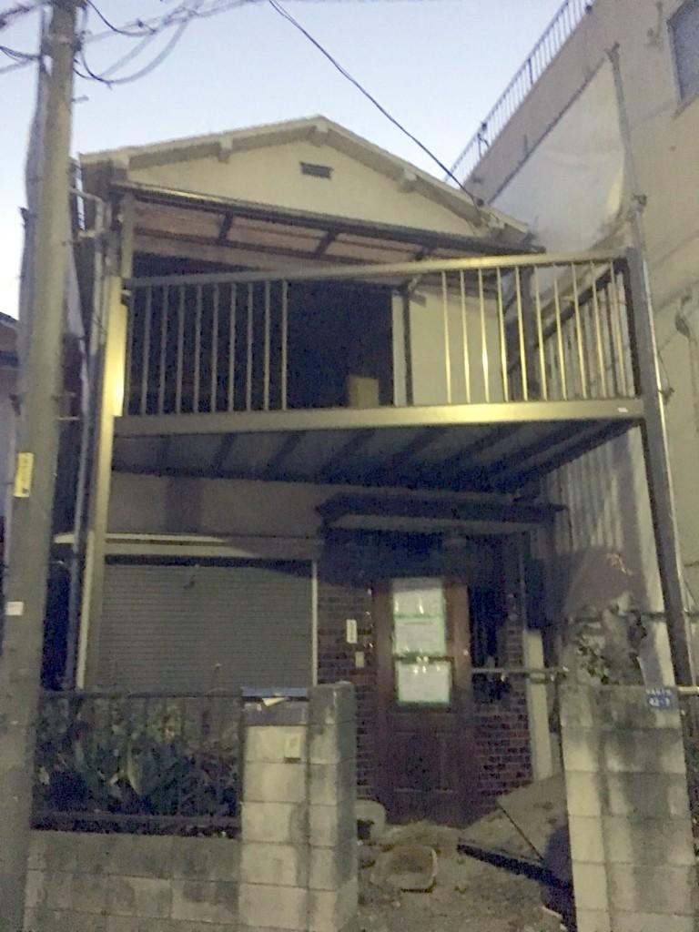 東京都板橋区板橋2階建て解体工事