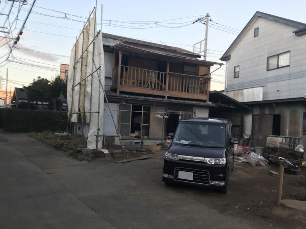 埼玉県春日部市八丁目母屋解体工事