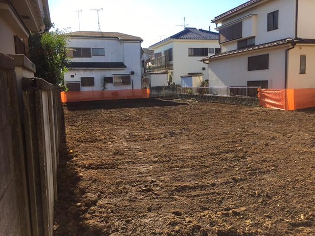 小平市学園東町木造2階建解体工事のイメージ画像