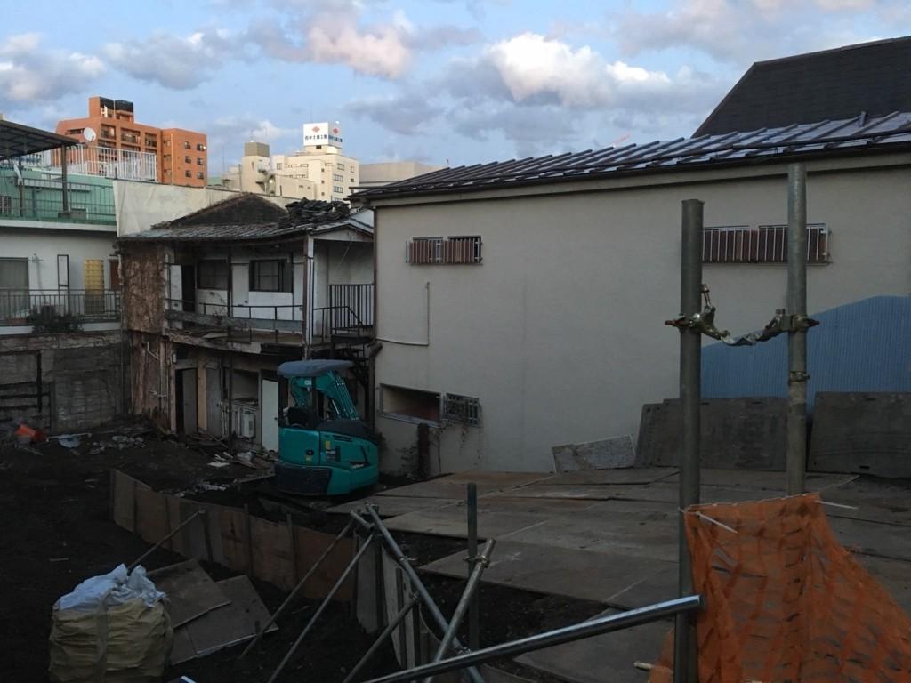 新宿区四谷坂町解体工事