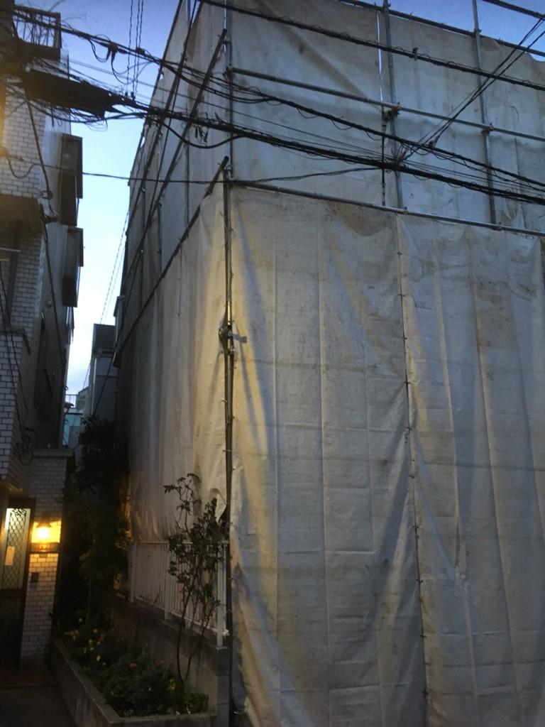 文京区千駄木木造解体工事