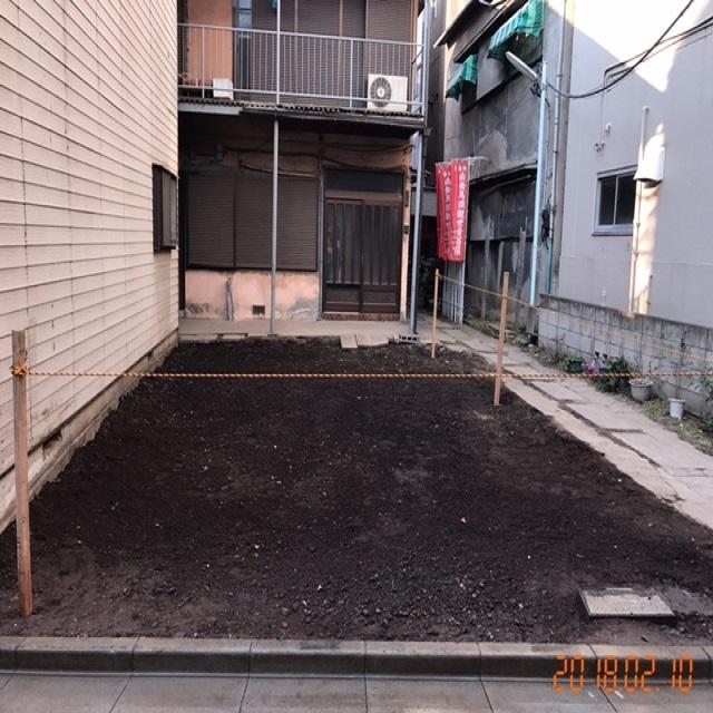 台東区東浅草解体工事のイメージ画像