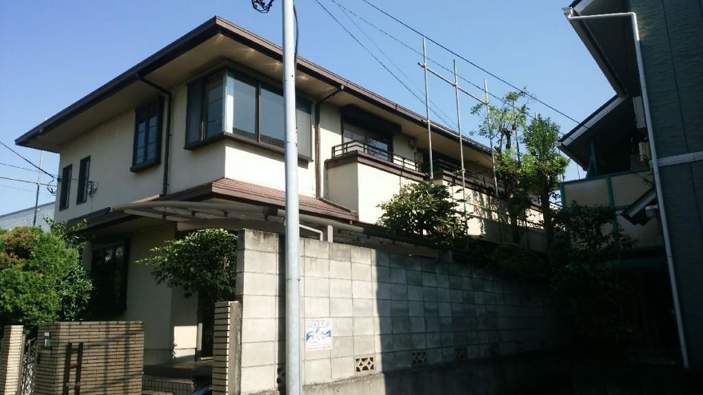 東京都中野区鷺宮軽量鉄骨2階建解体工事