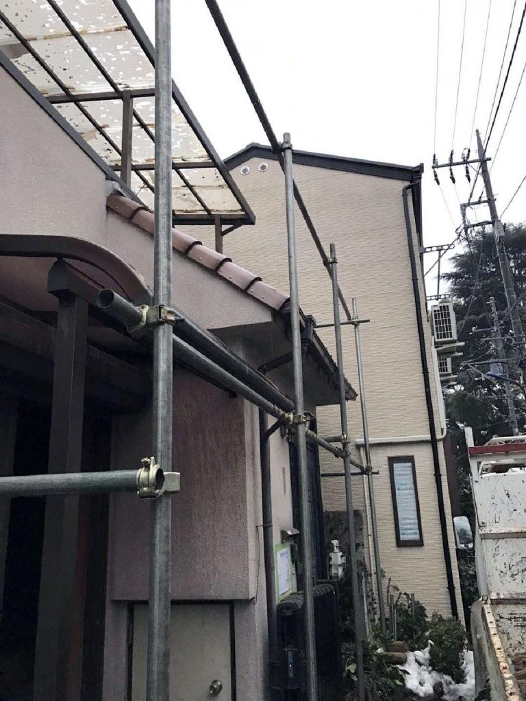 東京都練馬区北町木造2階建解体工事