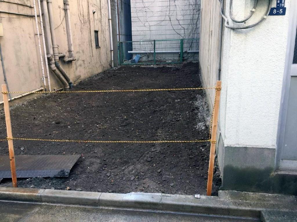 東京都中央区新富木造2階建解体工事のイメージ画像