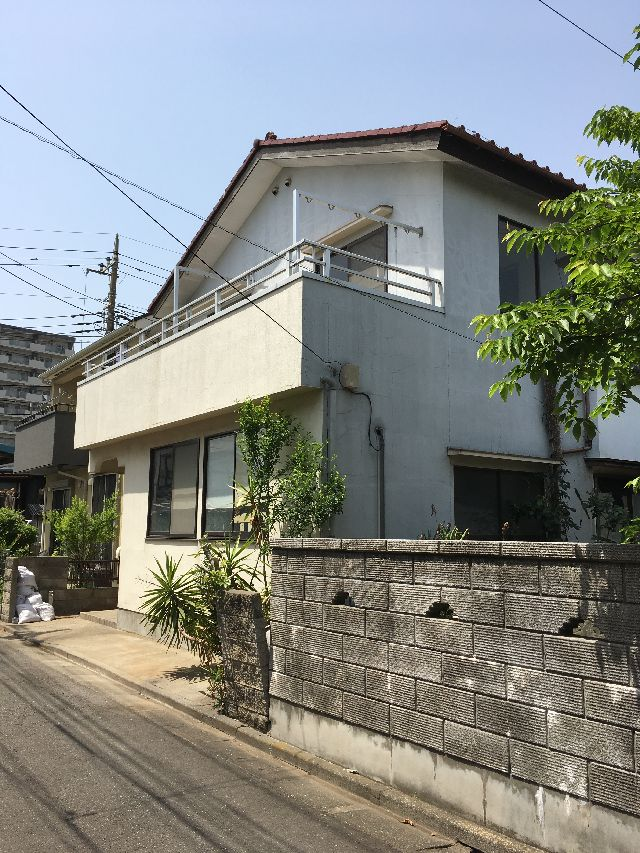 東京都足立区東六月町木造2階建解体工事