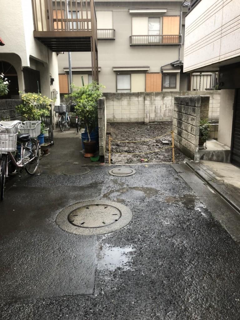 東京都葛飾区奥戸木造2階建解体工事のイメージ画像