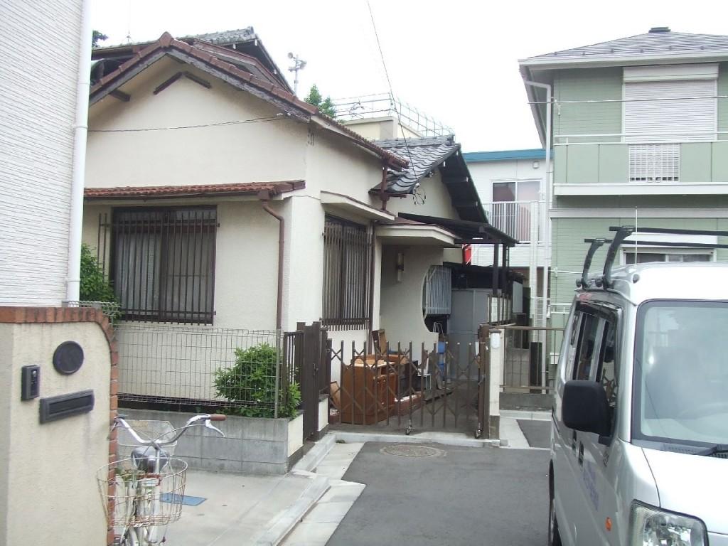 東京都杉並区永福木造2階建解体工事