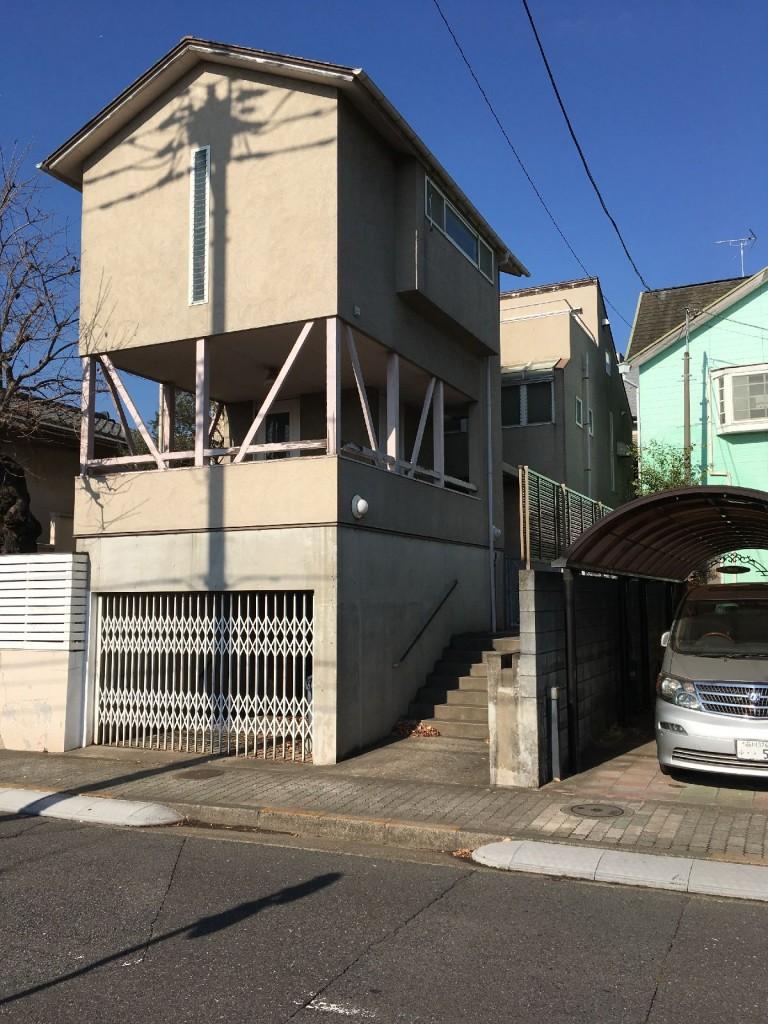 東京都大田区久が原木造・RC3階建解体工事