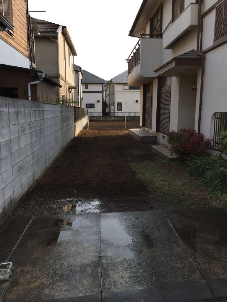東京都小金井市貫井南町木造解体工事のイメージ画像