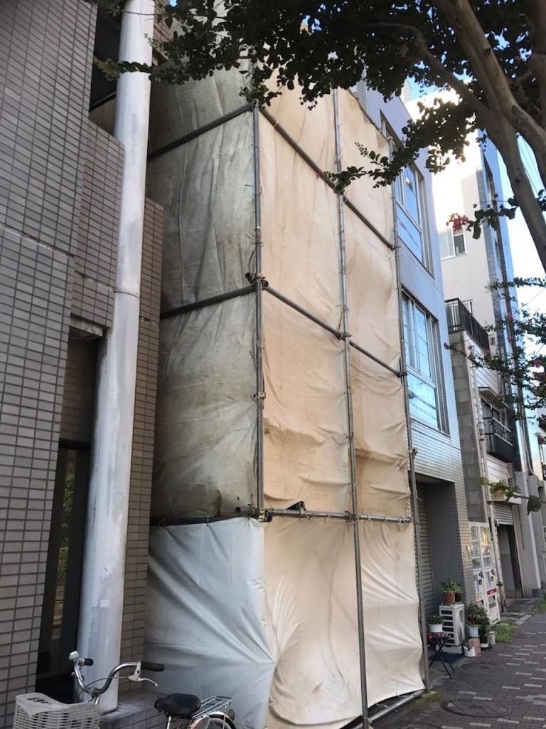 東京都葛飾区立石木造2階建解体工事
