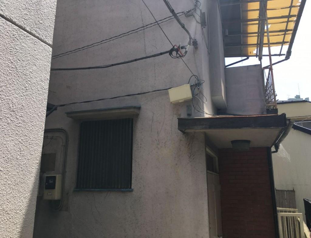 東京都新宿区大久保木造2階建解体工事
