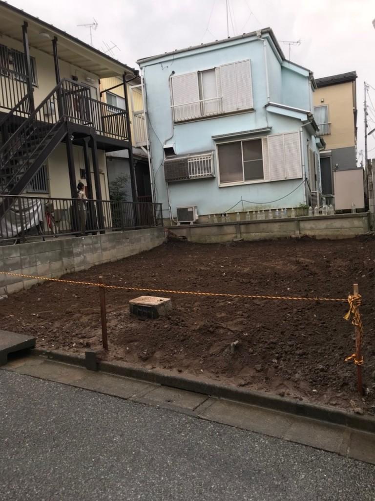 東京都板橋区四葉木造2階建解体工事のイメージ画像