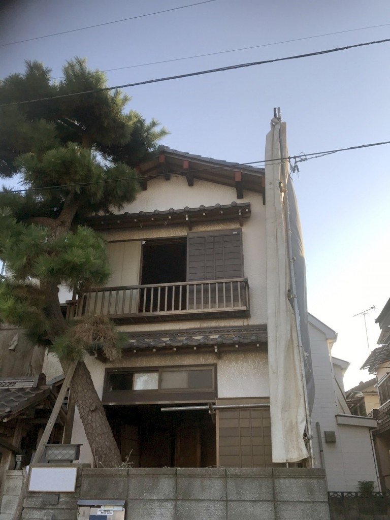 東京都葛飾区細田木造2階建解体工事