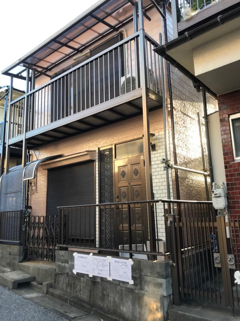 東京都板橋区四葉木造2階建解体工事