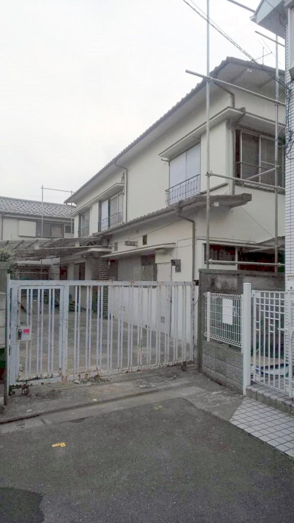 東京都板橋区中台木造2階建解体工事