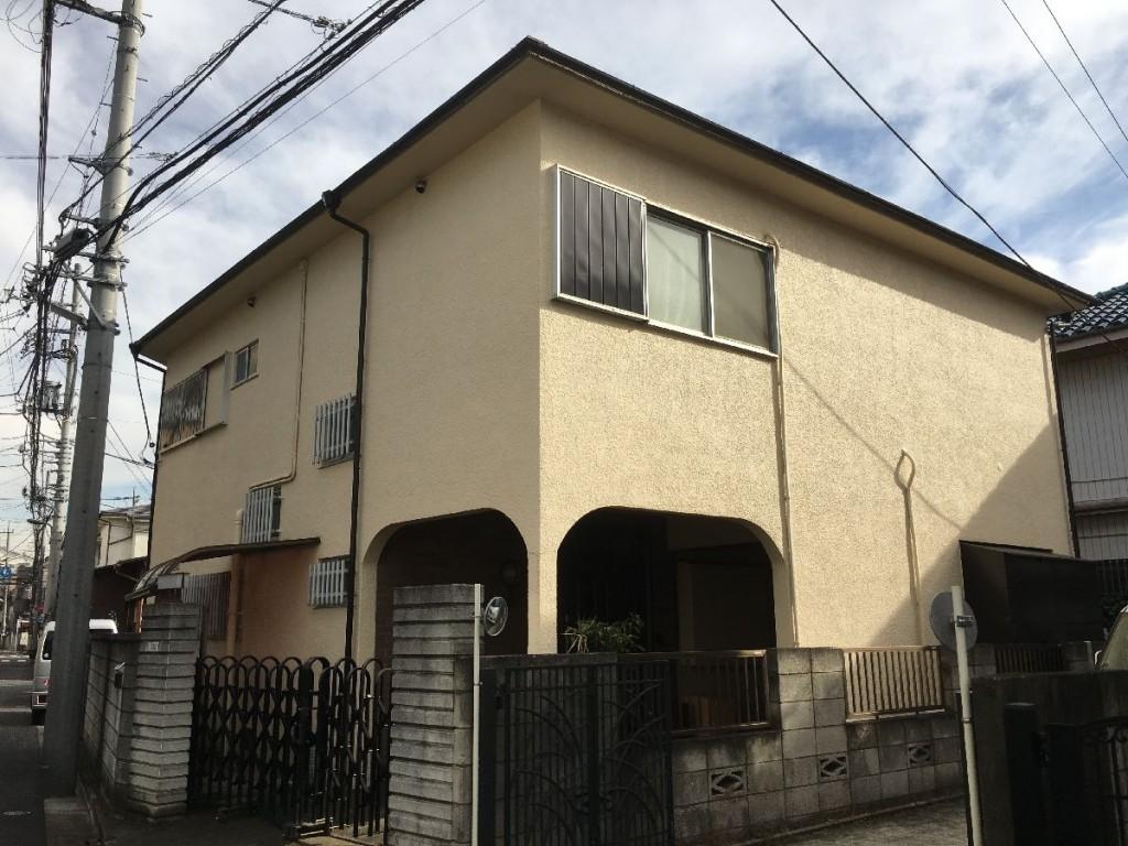 東京都足立区西新井木造2階建解体工事