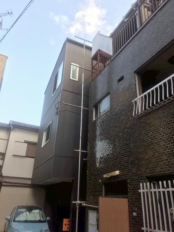 東京都文京区千駄木鉄骨3階建解体工事