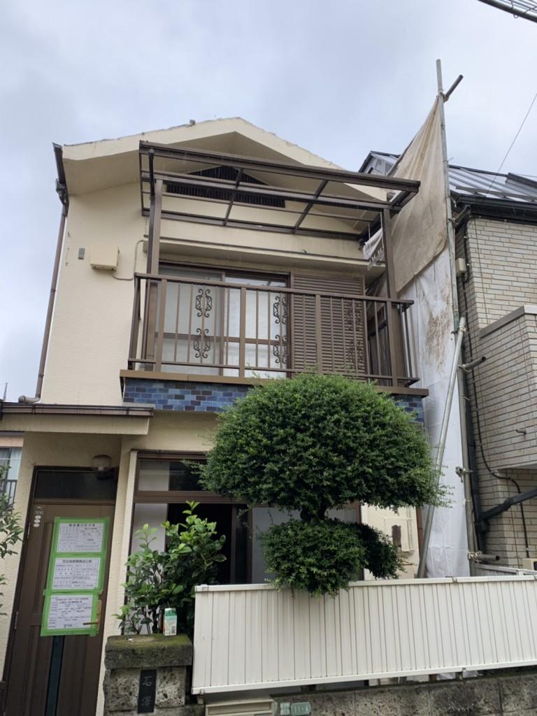 東京都世田谷区太子堂木造2階建解体工事