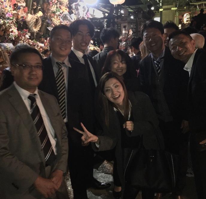 大鷲神社へお参りにいってきました!!のイメージ画像