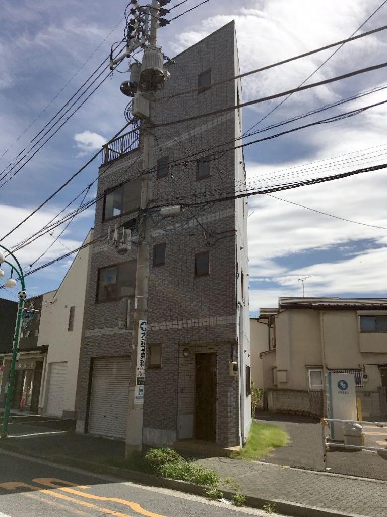 東京都葛飾区四つ木鉄骨3階建解体工事