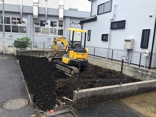 東京都足立区中央本町木造2階建解体工事のイメージ画像
