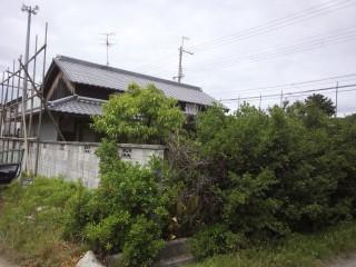 解体工事 木造中2階 大阪府堺市
