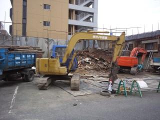 解体工事 木造2階建て 大阪府大阪市