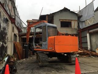 解体工事 鉄骨 木造 和歌山県橋本市