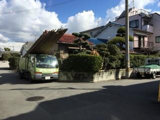 解体工事 木造 八尾市
