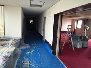 内装 解体工事 スケルトン 大阪府 堺市 ホテル