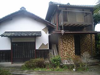 解体工事 近江八幡市 木造2階建て27坪+木造平屋35坪